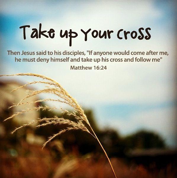 Bear the Cross by Self Denial